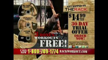 The Rack Workout TV Spot
