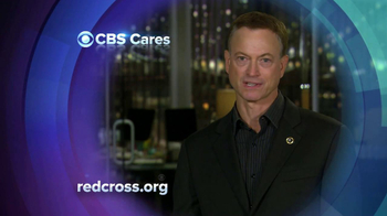 CBS Cares TV Spot, 'Hurricane Sandy Relief' Featuring Gary Sinise