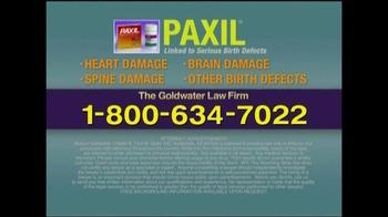 Goldwater Law Firm TV Spot, 'Paxil' - Thumbnail 9