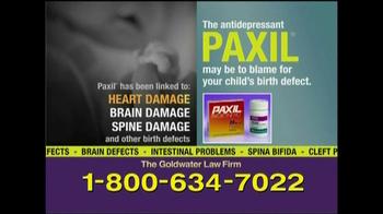 Goldwater Law Firm TV Spot, 'Paxil' - Thumbnail 2