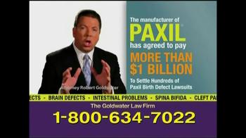 Goldwater Law Firm TV Spot, 'Paxil' - Thumbnail 5