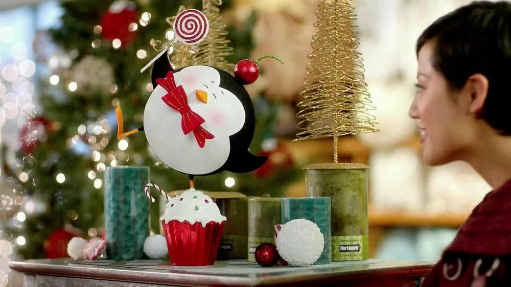 Pier 1 Christmas Ornaments.Pier 1 Imports Tv Commercial Penguin In Smooshed In A Cupcake Video