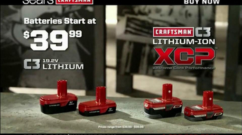 Craftsman C3 Lithium- Ion TV Spot, 'Guys' Favorites' - Thumbnail 8
