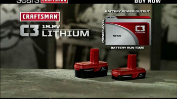 Craftsman C3 Lithium- Ion TV Spot, 'Guys' Favorites' - Thumbnail 2