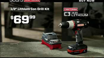 Craftsman C3 Lithium- Ion TV Spot, 'Guys' Favorites' - Thumbnail 4
