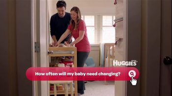 Huggies Mommy Answers TV Spot 'First Diaper' - 659 commercial airings