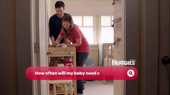 Huggies Mommy Answers TV Spot 'First Diaper' - Thumbnail 7