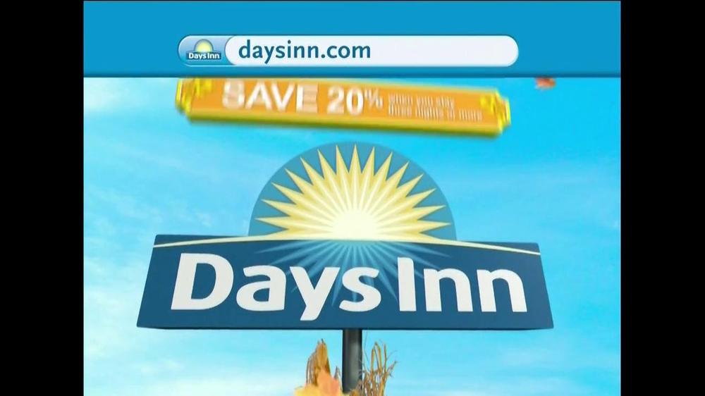 Days Inn TV Commercial, 'Save 20%'