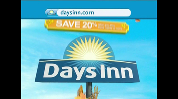 Days Inn TV Spot, \'Save 20%\'