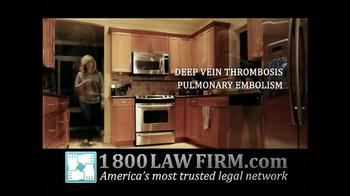 1-800-LAW-FIRM TV Spot, 'Yaz Birth Control Injury' - Thumbnail 3
