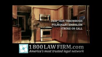 1-800-LAW-FIRM TV Spot, 'Yaz Birth Control Injury' - Thumbnail 4
