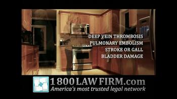 1-800-LAW-FIRM TV Spot, 'Yaz Birth Control Injury' - Thumbnail 5