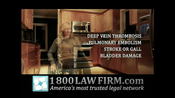 1-800-LAW-FIRM TV Spot, 'Yaz Birth Control Injury' - Thumbnail 6