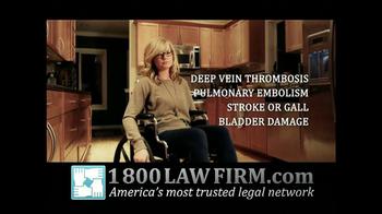 1-800-LAW-FIRM TV Spot, 'Yaz Birth Control Injury' - Thumbnail 7