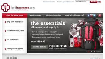 Food Insurance Essentials Backpack TV Spot  - Thumbnail 8