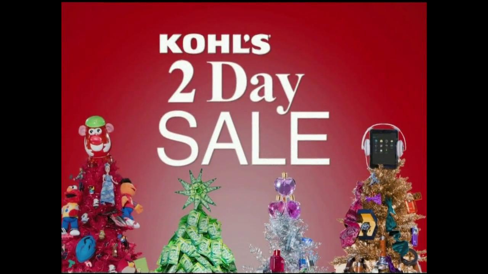 Is Kohls Open On Christmas Day.Kohl S 2 Day Sale Tv Commercial Video
