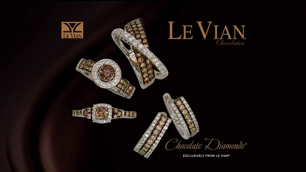 Jared TV Le Vian Chocolate Diamonds Commercial iSpottv