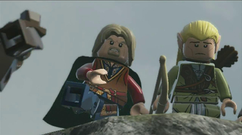LEGO Lord of the Rings TV Spot, 'Frying Pan'