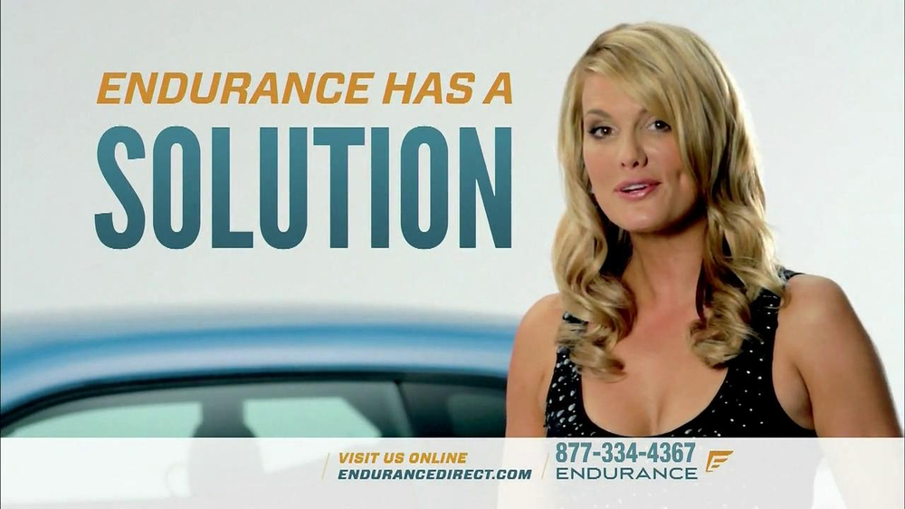 Endurance Car Insurance >> Endurance Direct Tv Commercial Featuring Courtney Hansen Video