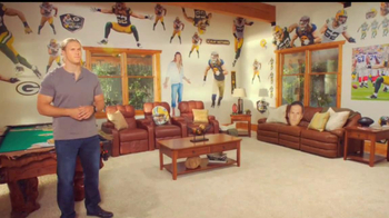 Fathead TV Spot Featuring Clay Matthews - 35 commercial airings