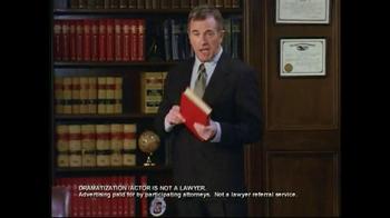 Injury Helpline TV Spot, 'Bookcase' - Thumbnail 1