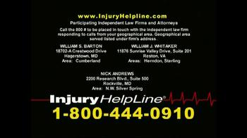 Injury Helpline TV Spot, 'Bookcase' - Thumbnail 8