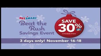 PetSmart Beat the Rush Sale TV Spot  - Thumbnail 6