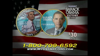Obama Coins TV Spot  - Thumbnail 6