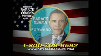 Obama Coins TV Spot  - Thumbnail 2
