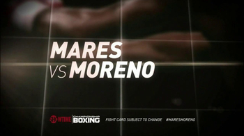 Showtime TV Spot, 'Mares Vs. Moreno' - Thumbnail 8