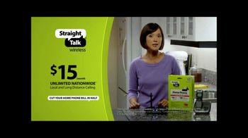 Straight Talk Wireless Home Phone TV Spot