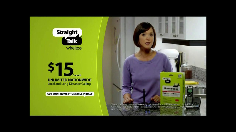 Straight Talk Wireless Home Phone TV Commercial - Video