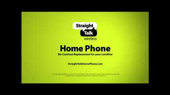 Straight Talk Wireless Home Phone TV Spot - Thumbnail 6