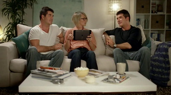 Verizon Xtra Factor App TV Spot, 'Double' Featuring Simon Cowell