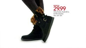 Macy's Super Saturday Sale TV Spot, 'Boots, Flannel, Cusinart' - Thumbnail 6