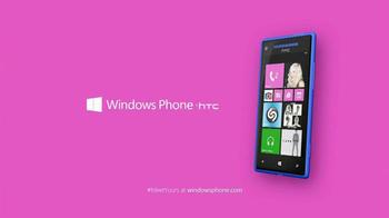 Microsoft Windows Phone 8X by HTC TV Spot Featuring Gwen Stefani - Thumbnail 9