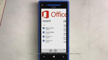 Microsoft Windows Phone 8X by HTC TV Spot Featuring Gwen Stefani - Thumbnail 6