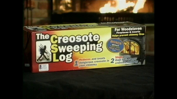 Creosote Sweeping Log TV Spot, 'Chimney Fires' - Thumbnail 10