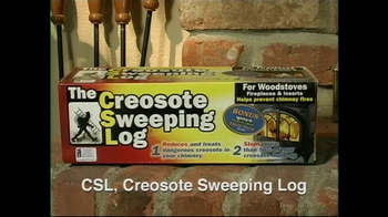 Creosote Sweeping Log TV Spot, 'Chimney Fires' - Thumbnail 3