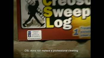 Creosote Sweeping Log TV Spot, 'Chimney Fires' - Thumbnail 7