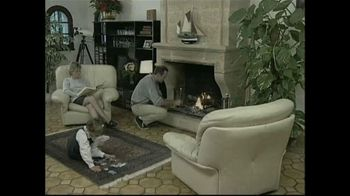 Creosote Sweeping Log TV Spot, 'Chimney Fires'