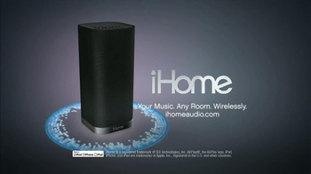 iHome iW3 TV Spot, 'Airplay' - Thumbnail 10