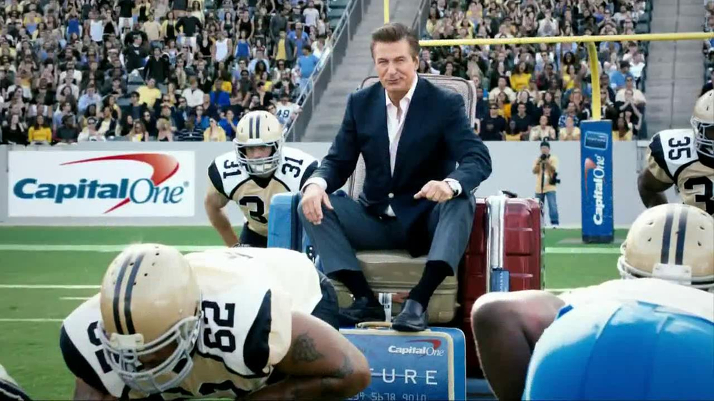 Capital One TV Commercial, 'Football Trip' Featuring Alec Baldwin