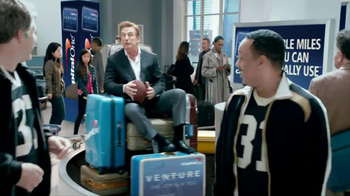 Capital One TV Spot, 'Footbal Trip' Featuring Alec Baldwin - Thumbnail 1