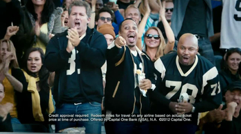 Capital One TV Spot, 'Footbal Trip' Featuring Alec Baldwin - Thumbnail 6