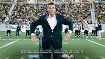 Capital One TV Spot, 'Footbal Trip' Featuring Alec Baldwin - Thumbnail 7