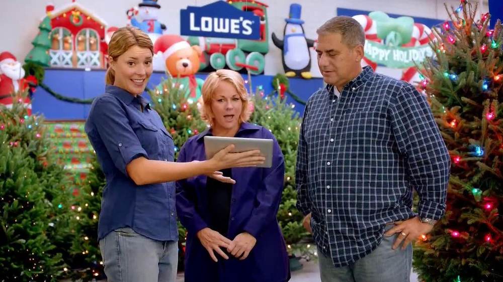 Lowes Christmas Garland.My Lowes Tv Commercial Garland Featuring Grace Anne Helbig Video
