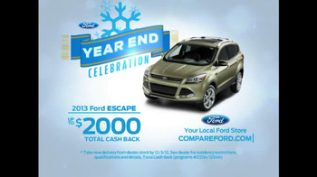 Ford Year End Celebration TV Spot, 'Sleek Escape' Featuring Mike Rowe - Thumbnail 8