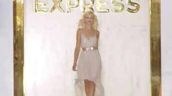 Express 2012 Holiday Collection TV Spot, 'Runway' Song by JJAMZ