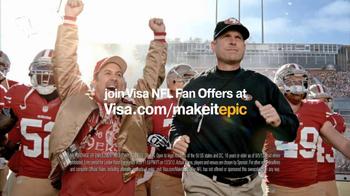VISA NFL Fan Offers TV Spot Featuring Jim Harbaugh - Thumbnail 1